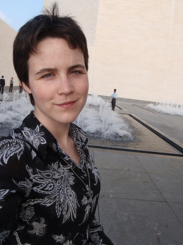 Jessica Dickinson Goodman in Doha, Qatar