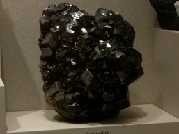 Black Adradite at the Smithsonian Museum of Natural History